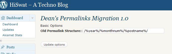 old Permalinks